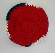 Load image into Gallery viewer, Faded Glory Red  Cotton & Nylon Dish Scrubbies