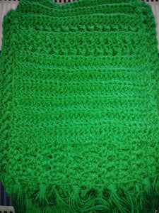 Emerald Green Ladies Pocket Shawl Women's Accessories