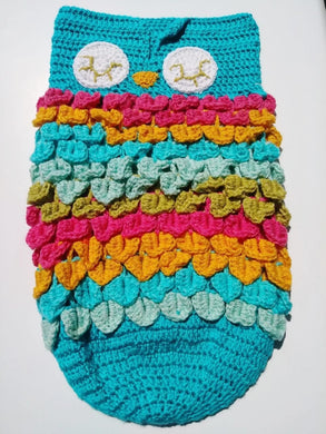 Sleepy Owl Baby Cocoon Swaddle Up to 12 Months