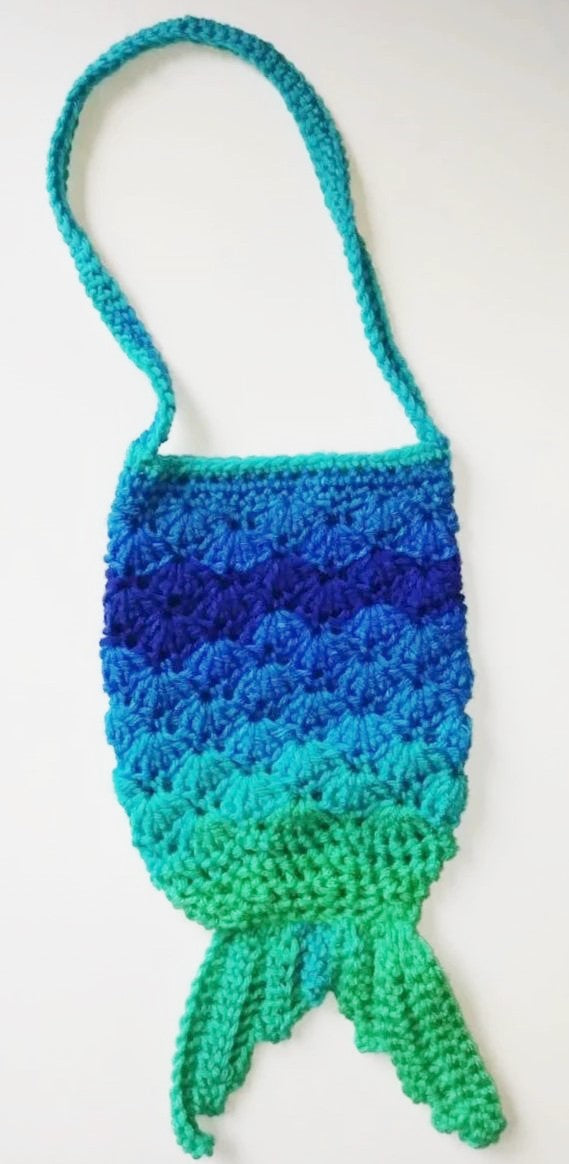 Mermaid Tail Purse Little Girl's Accessories
