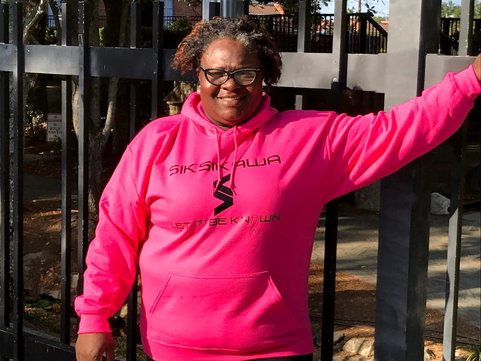 Siksikawa Breast Pink Cancer Hoodies