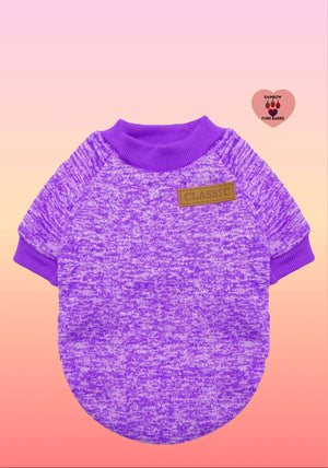 Purple Classic Furrbaby Sweater
