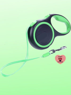 Retractable Superflex Leash Leads -Lime Green