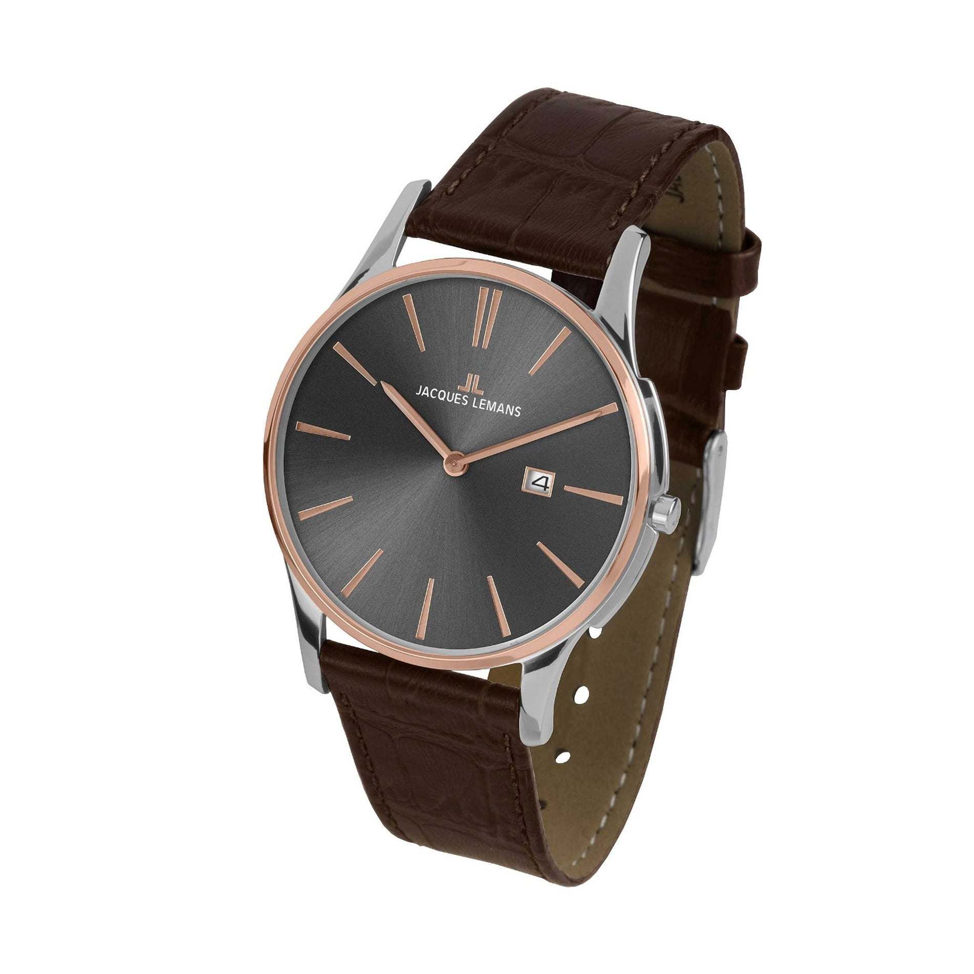 Reloj Jacques Lemans  Unisex Marron