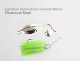Signature Spinnerbait - Colorado/Willow