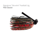 "Signature ""Lite Wire"" Football  Jig"