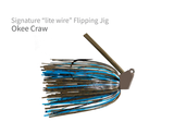 "Signature ""Lite Wire"" Flipping Jig"