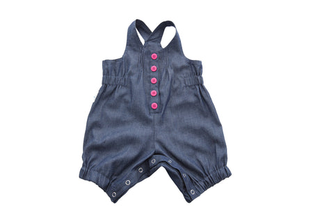 Playsuit - Denim/Pink