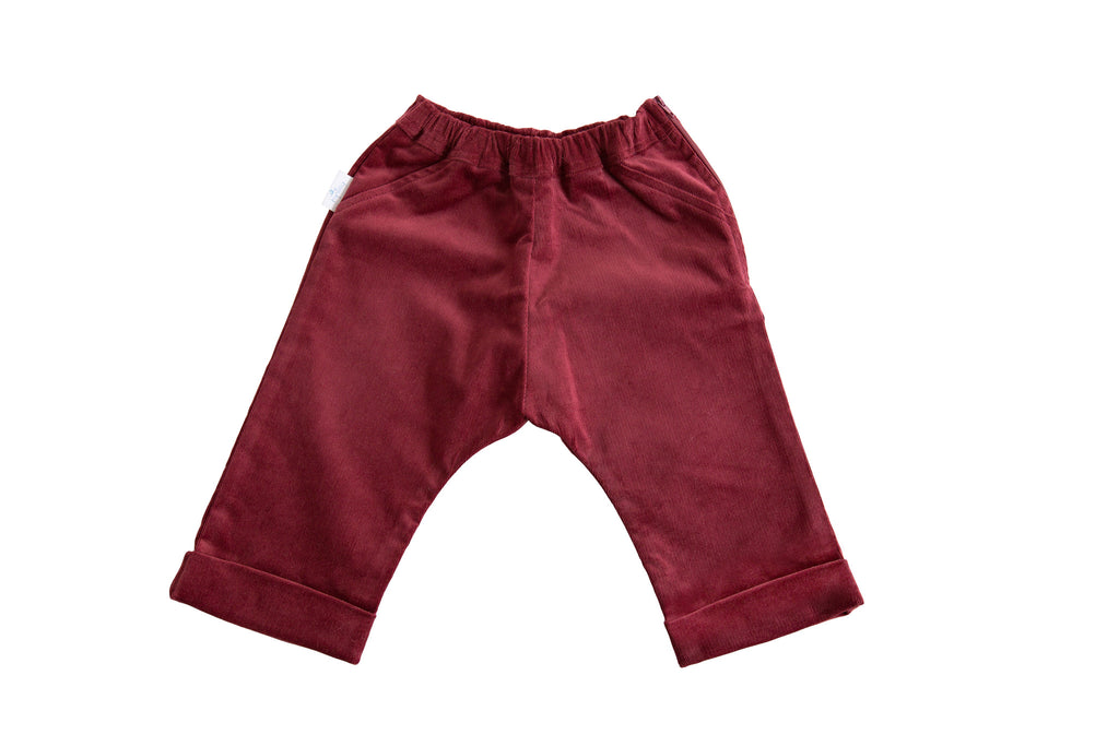 Corduroy Pants - Red