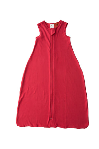 100% Certified Organic Cotton Sleeping Bag - Red