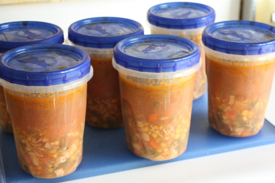 Cute Freezer Containers For Soup