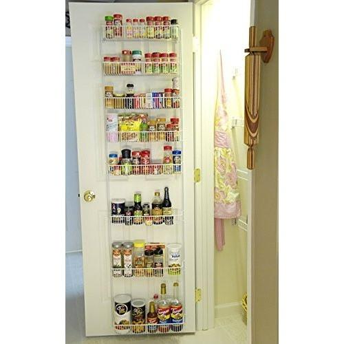 Adjustable Door Rack Pantry Organizer