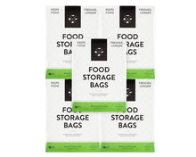 Load image into Gallery viewer, Budget formaticum collection cheese storage bags 75 food storage bags 50 and cheese storage paper with adhesive labels 75
