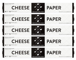 Amazon formaticum collection cheese storage bags 75 food storage bags 50 and cheese storage paper with adhesive labels 75