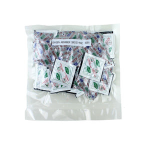 Discover the 400cc premium oxygen absorbers for food storage oxygen scavengers packets20 bag of 50 packets iso 9001 certified facility manufacturedfda compliant packet materials