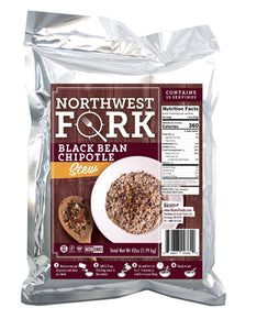 Order now northwest fork gluten free 6 month emergency food supply kosher non gmo vegan 10 year shelf life 6 x 90 servings