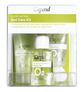 3-Step Action Nail Care Kit 8944