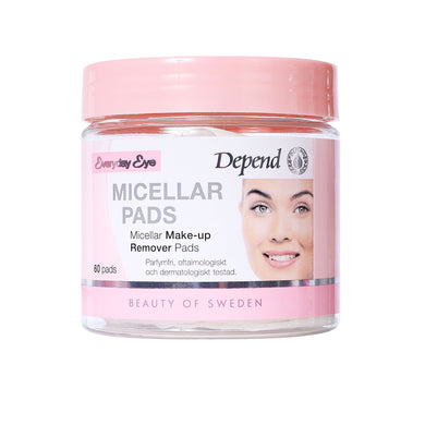 Micellar Make-up Removerpads 60pads
