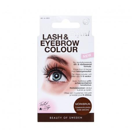Lash & Eyebrow Colour - Mørk Brun 4906-1
