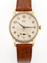 DELUXE SMITHS 9CT GOLD BRITISH RAIL ISSUE LONG SERVICE WATCH GOOD CONDITION 6