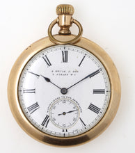 SMITHS EARLY S SMITH& SON 9 STRAND LONDON USA CASED OMEGA POCKET WATCH