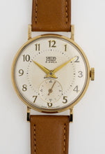 EVEREST SMITHS 9CT GOLD 15 JEWEL WRISTWATCH IN SUPERB CONDITION