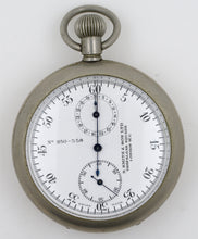 SMITHS RAF PURPOSE POCKET WATCH CHRONOGRAPH BOMBER SQUADRON