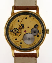 IMPERIAL SMITHS GOLD PLATED VINTAGE GENTS WRISTWATCH