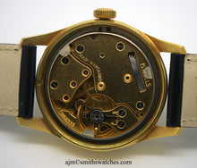 DELUXE SMITHS MODEL A319 SMITHS GENTS WRISTWATCH C 1956 FANCY DIAL NEAR MINT + PAPERS BOX