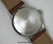 J W BENSON LONDON SMITHS MADE IN ENGLAND ROMAN NUMERAL DIAL DENNISON AQUATITE CASE C 1953 4