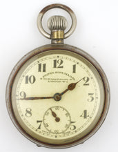 SMITHS EARLY S SMITH & SONS (M.A) LTD SWISS 8 DAY MOTORING POCKET WATCH