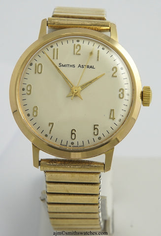 ASTRAL SMITHS MADE IN ENGLAND GENTS VINTAGE WRISTWATCH