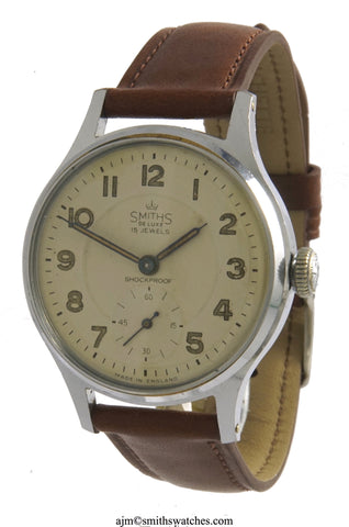 DELUXE  SMITHS EVEREST PATTERN A404 NEAREST MODEL AS ADVERTISED TO THE ACTUAL WATCHES USED UP EVEREST