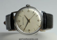 ASTRAL SMITHS  STAINLESS STEEL 17 JEWEL SMITHS MADE IN ENGLAND WRISTWATCH 1960'S