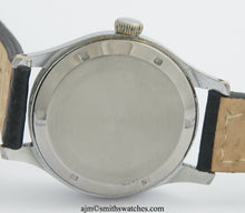 DELUXE SMITHS ENGLISH ANTARCTIC EXPEDITION PATTERN WRISTWATCH 17J SERVICED MODEL A454 c1953/4 3