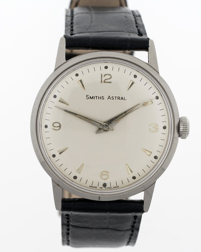 ASTRAL SMITHS  STAINLESS STEEL 1960'S 17 JEWEL SMITHS MADE IN ENGLAND WRISTWATCH 1960'S 2