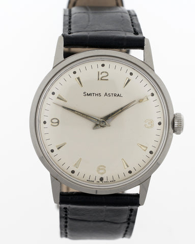 ASTRAL SMITHS  STAINLESS STEEL 1960'S 17 JEWEL SMITHS MADE IN ENGLAND WRISTWATCH 1960'S OVERHAULED 2