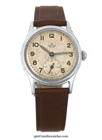 DELUXE SMITHS A404 C1953 WATCH NEAREST EVEREST PATTERN WATCH AVAILABLE TO THE ACTUAL EXPEDITION MODEL    2