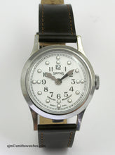 SMITHS EARLY BRAILLE HALF HUNTER WRISTWATCH 1960'S SPECIALLY ADAPTED MOVEMENT