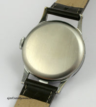 SMITHS EARLY BRAILLE HALF HUNTER WRISTWATCH 1960'S