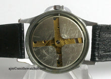 J W BENSON LONDON SMITHS MADE IN ENGLAND ROMAN NUMERAL DIAL DENNISON AQUATITE CASE C 1953 2