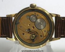 EVEREST SMITHS GOLD PLATED 19 JEWEL SMITHS MADE IN ENGLAND WRISTWATCH OVERHAULED C 1961