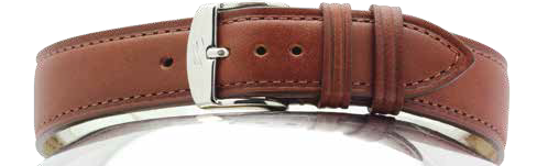 STRAP ZRC 733 DAKOTA VEGETABLE TANNED COWHIDE WITH FULL GRAIN LEATHER LINING HAND MADE