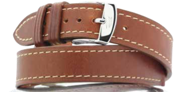 STRAP ZRC 733DT COWHIDE FULL GRAIN LEATHER LINING VEGETABLE TANNED