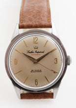 IMPERIAL SMITHS AUTOMATIC STAINLESS STEEL 25 JEWEL ENGLISH WRISTWATCH