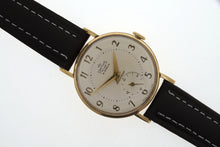 DELUXE SMITHS GENTS 9CT GOLD PRESENTATION WRISTWATCH SERVICED 1961