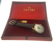 IMPERIAL SMITHS MADE IN ENGLAND WRISTWATCH IN EXCELLENT CONDITION WITH BOX & PAPER