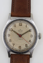 DELUXE SMITHS ENGLISH ANTARCTIC EXPEDITION PATTERN WRISTWATCH 17J SERVICED c1953