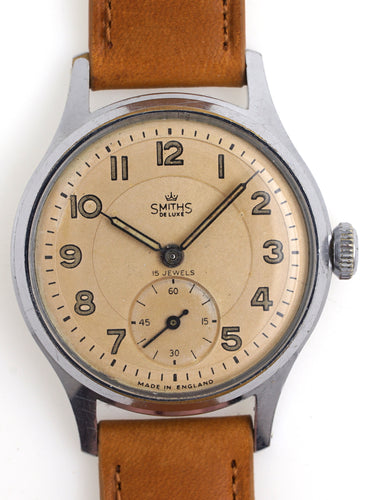 DELUXE SMITHS A 404 EXPEDITION MODEL WRISTWATCH C 1958 WITH
