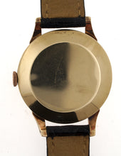 DELUXE SMITHS LARGE SIZED 9CT GOLD 18 JEWEL HIGH GRADE WRISTWATCH C1956